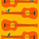 BIRDS ON A GUITAR STRING by JazzberryBlue