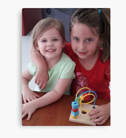 Cousins Canvas Print