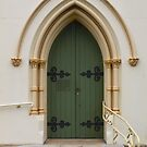 Doorway to Heaven?  St Andrews 1875.  Richmond by Vicki Childs