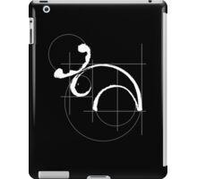 Vitruvian Moose (dark side) iPad Case/Skin