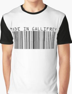 Made In Gallifrey Graphic T-Shirt