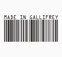 Made In Gallifrey Kids Tee