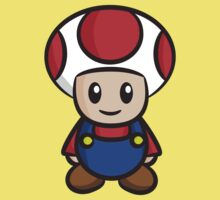 Mario Toad Kids Clothes