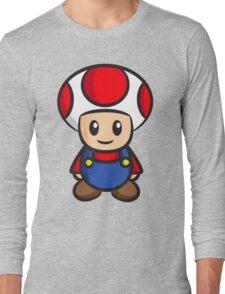 Mario Toad Long Sleeve T-Shirt
