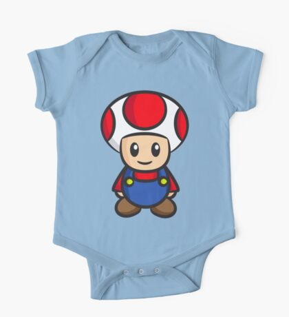 Mario Toad One Piece - Short Sleeve