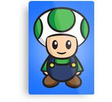 Luigi Toad Metal Print