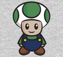 Luigi Toad One Piece - Long Sleeve