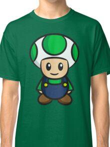 Luigi Toad Classic T-Shirt