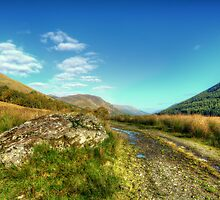 Glen Lyon by English Landscape Prints