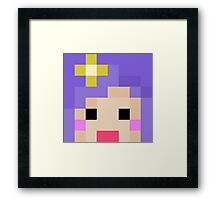 iHasCupquake Minecraft Cloud 9 Season 3 Skin Framed Print