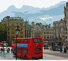 Postcards from London  by Claire McCall