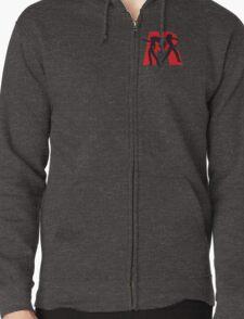 Team Rocket Zipped Hoodie