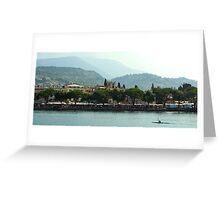 Garda Waterfront Greeting Card