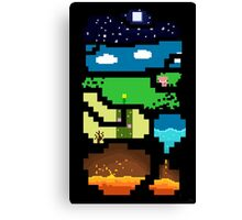 Minecraft Fan Art ON A LOT OF STUFF! Canvas Print