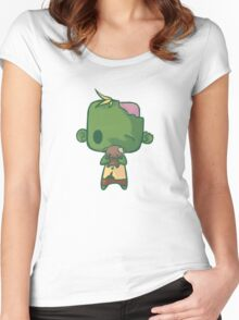 Baby Zombie Women's Fitted Scoop T-Shirt