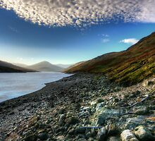 Loch Lyon, Glen Lyon by English Landscape Prints
