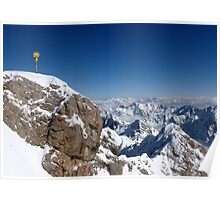 The Summit ~ Zugspitze ~ Top of Germany Poster