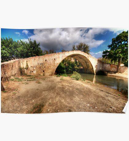 Crete Packhorse Bridge Poster
