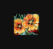 Orange Desert Flowers Unisex T-Shirt