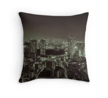 Insomniac Throw Pillow