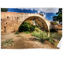 The Cretian Packhorse Bridge Poster