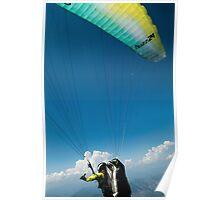 Paraglider in Flight Poster