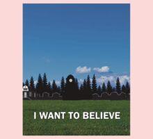 StoryBrooke - I Want To Believe One Piece - Short Sleeve