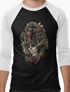 Day of the Dead (Ancient Guardians) Men's Baseball ¾ T-Shirt