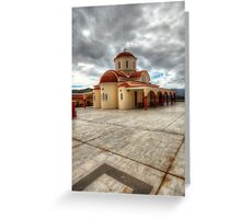 Lassithi Monastery Greeting Card