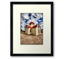 Greek Orthodox Church Framed Print