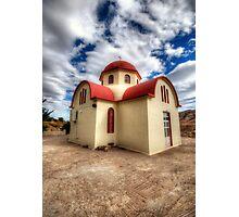 Greek Orthodox Church Photographic Print