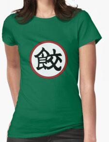 餃 Womens Fitted T-Shirt