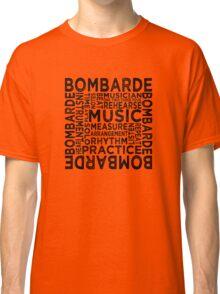 Bombarde Typography Classic T-Shirt