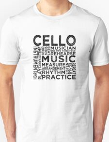 Cello Typography T-Shirt