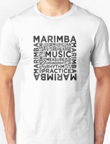 Marimba Typography T-Shirt