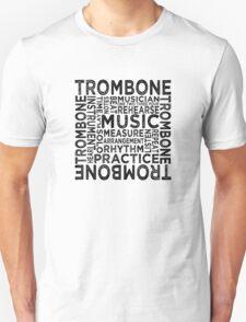 Trombone Typography T-Shirt