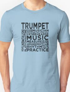 Trumpet Typography T-Shirt