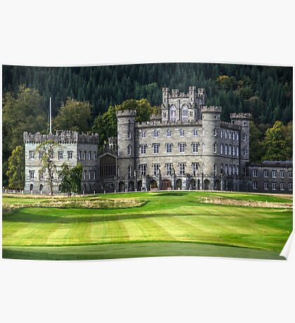 Taymouth Castle Poster