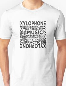 Xylophone Typography T-Shirt