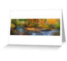 Brush Creek  Greeting Card