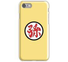 孫 iPhone Case/Skin