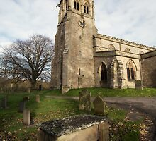 St Andrews Church by English Landscape Prints