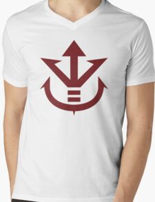 The Saiyan Royal Family Symbol Mens V-Neck T-Shirt