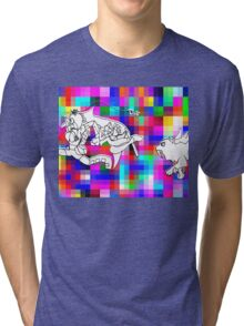 dawn forces--RUN!!!! Tri-blend T-Shirt