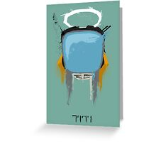 The Robot Greeting Card