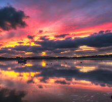 Bembridge Harbour by manateevoyager