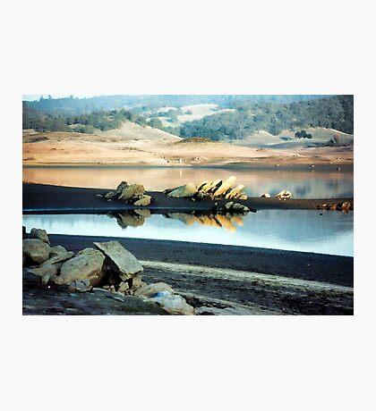 Jagged Rocks Photographic Print