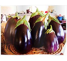 La Famille de L'Aubergine decided it was high time they had a family photo... Poster