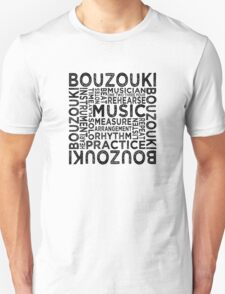 Bouzouki Typography T-Shirt