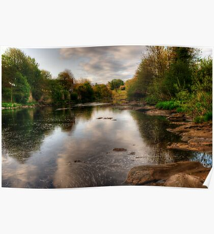 The River Tees Poster